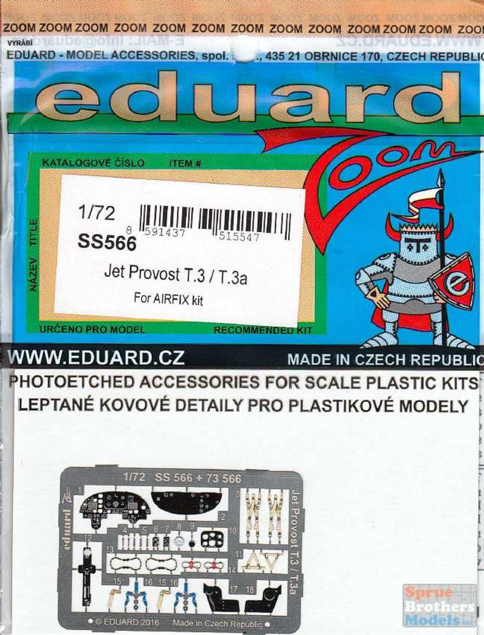 EDUSS566 1:72 Eduard Color Zoom PE - Jet Provost T.3 / T.3a (AFX kit)