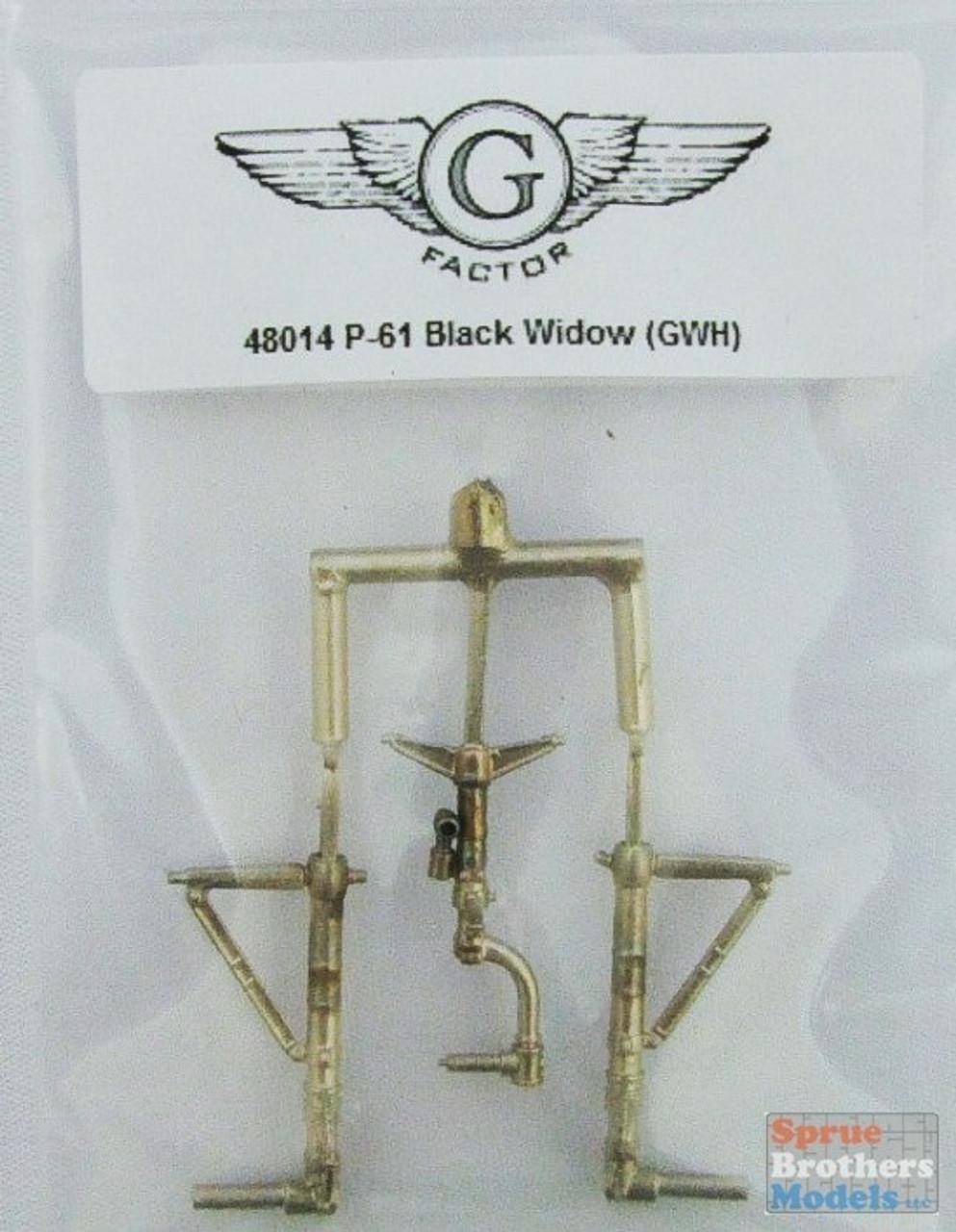 GFM48014 1:48 G-Factor P-61 Black Widow Landing Gear (GWH kit) #48014