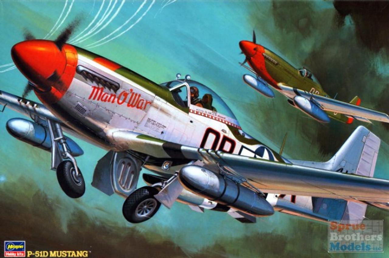 HAS08055 1:32 Hasegawa P-51D Mustang