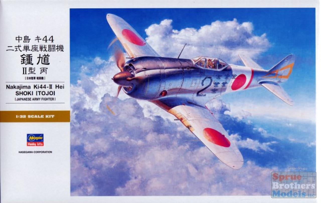 HAS08880 1:32 Hasegawa Nakajima Ki44-II Hei Shoki (Tojo)