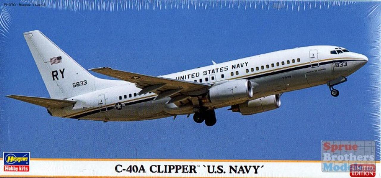 HAS10816 1:200 Hasegawa C-40A Clipper 'US Navy'