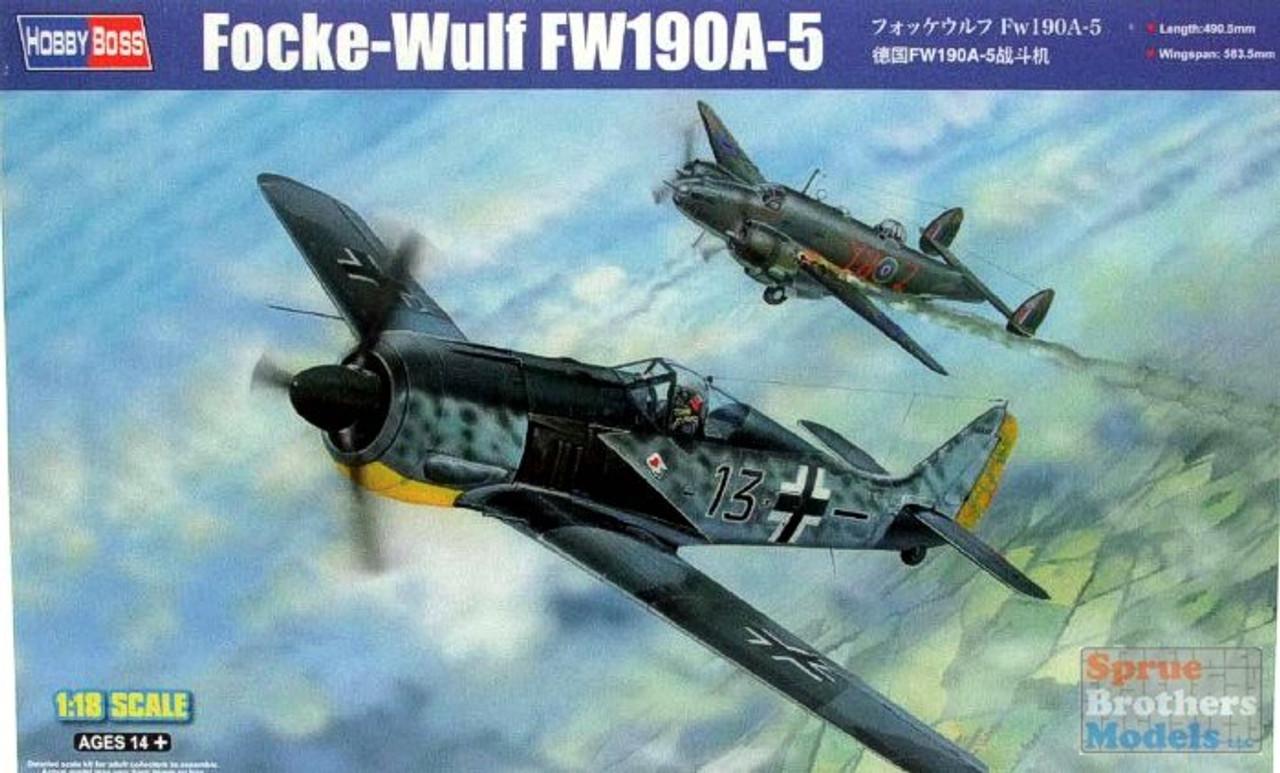 HBS81802 1:18 Hobby Boss Focke-Wulf Fw190A-5
