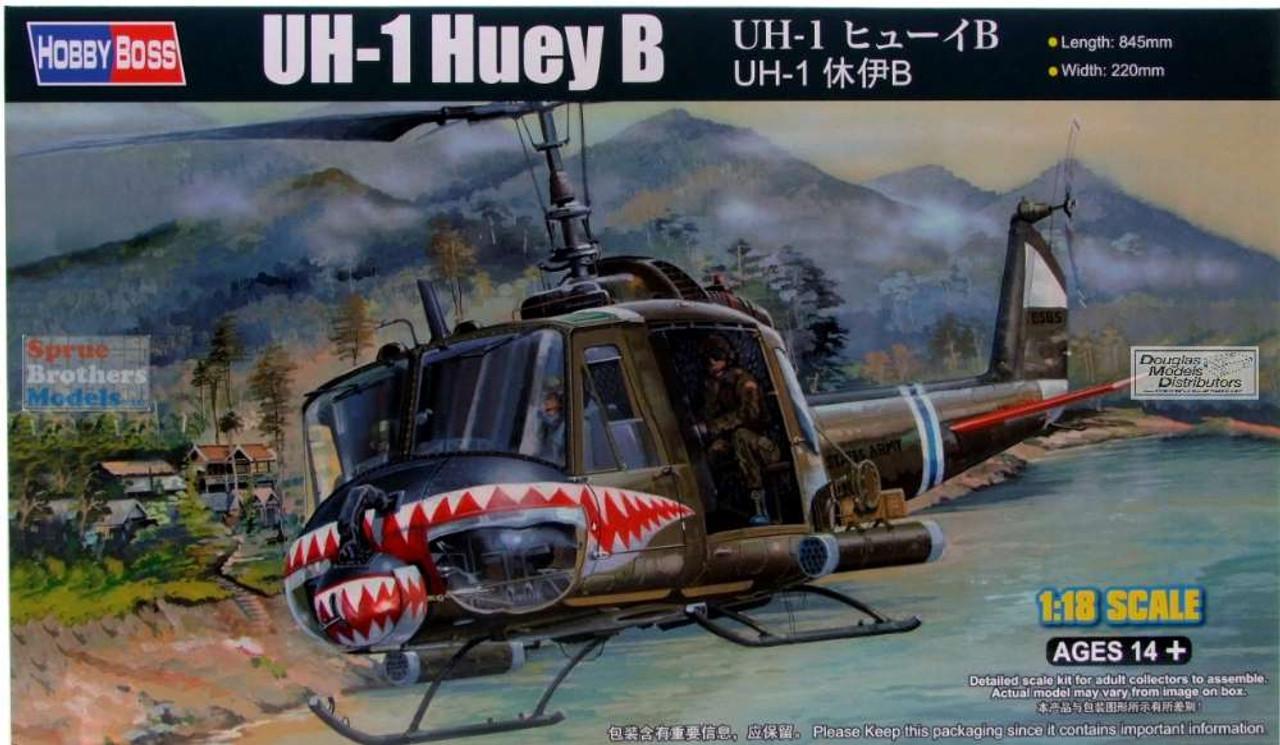 HBS81806 1:18 Hobby Boss UH-1B Huey