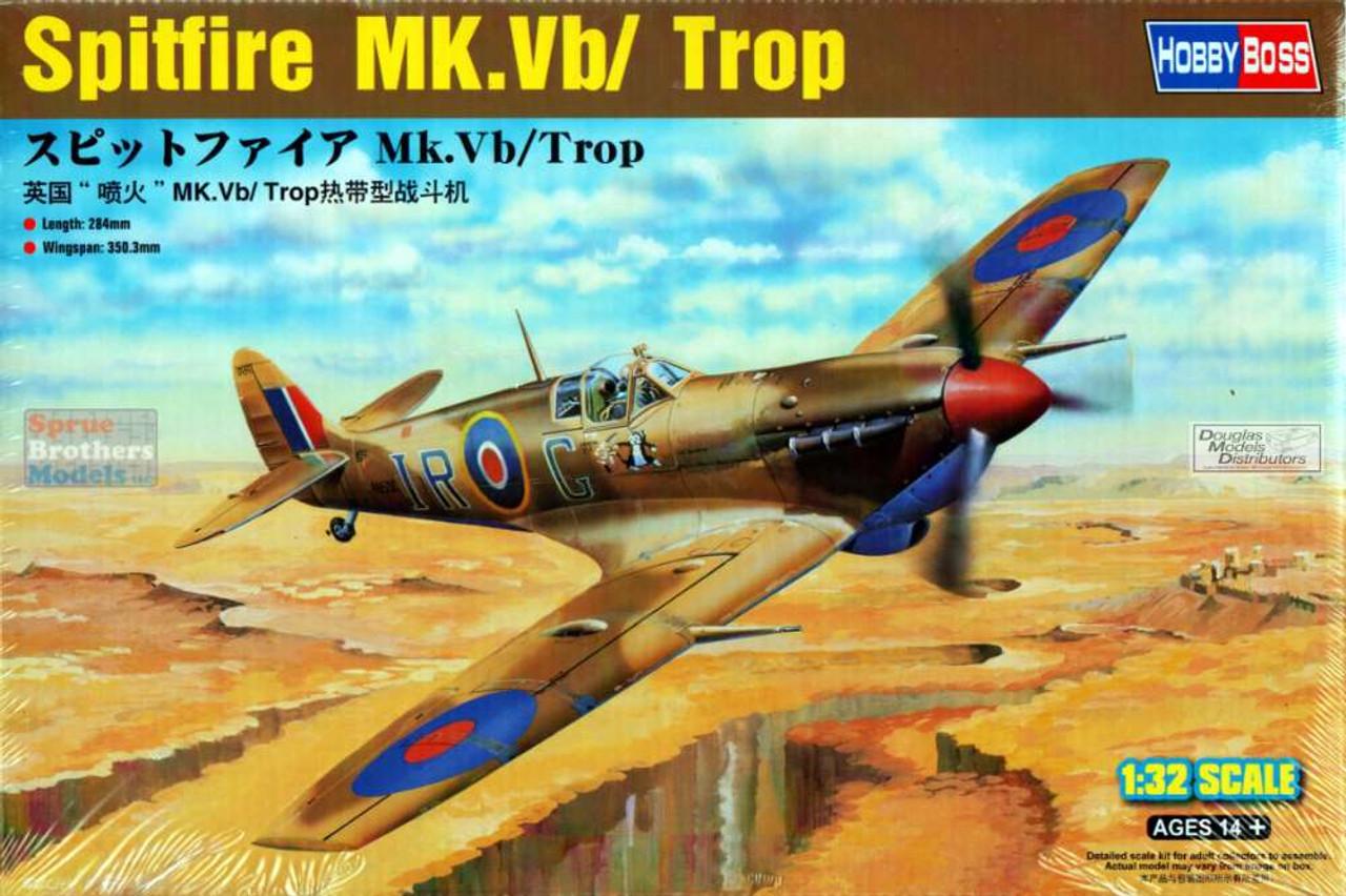 HBS83206 1:32 Hobby Boss Spitfire Mk.Vb / Trop