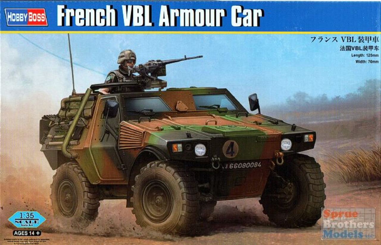 HBS83876 1:35 Hobby Boss French VBL Armored Car