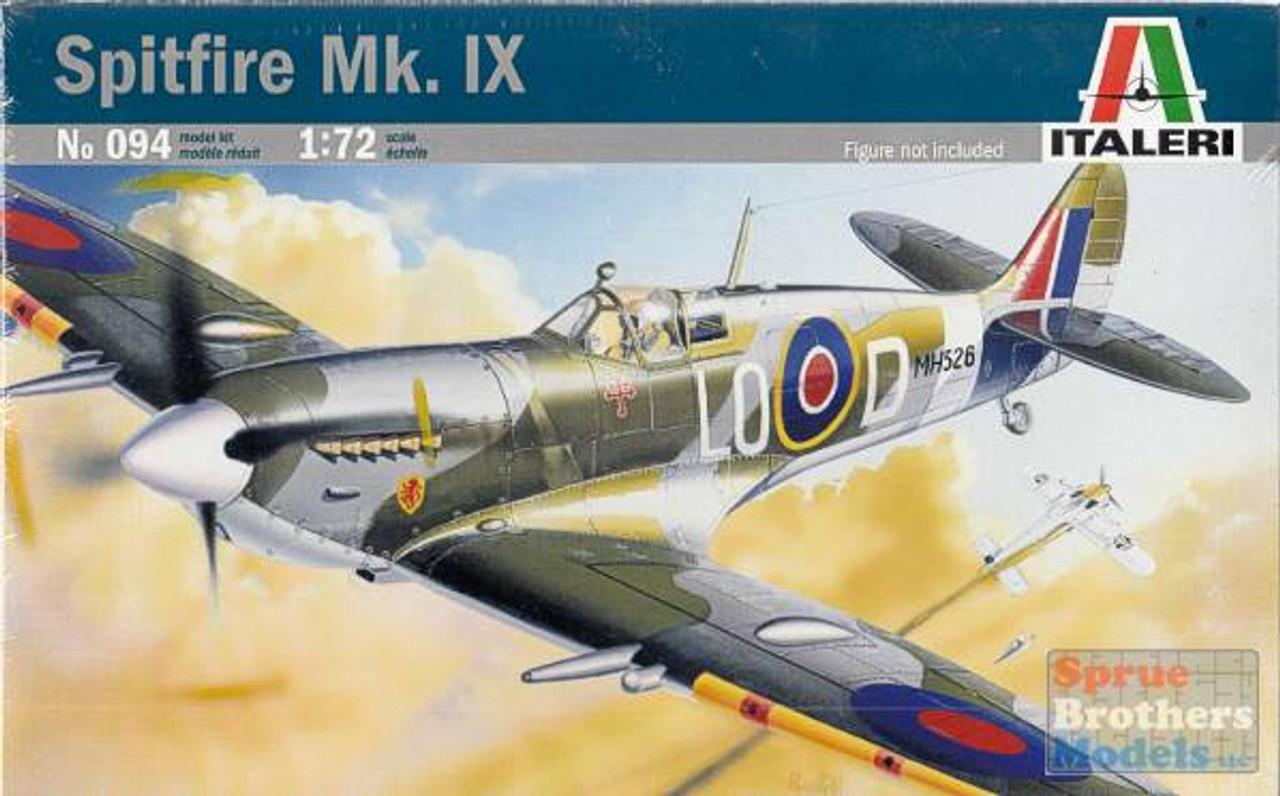 ITA0094 1:72 Italeri Spitfire Mk IX