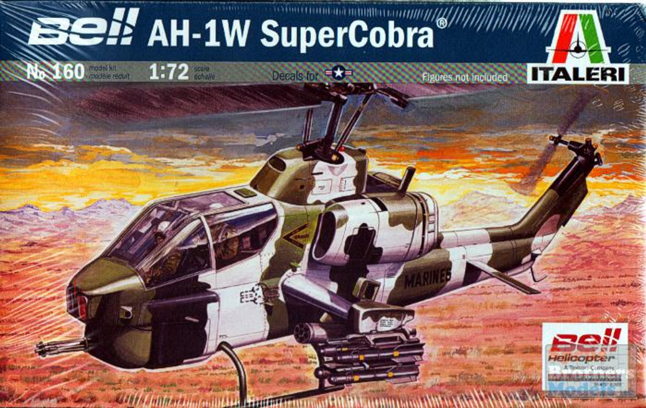 ITA0160 1:72 Italeri AH-1W Super Cobra