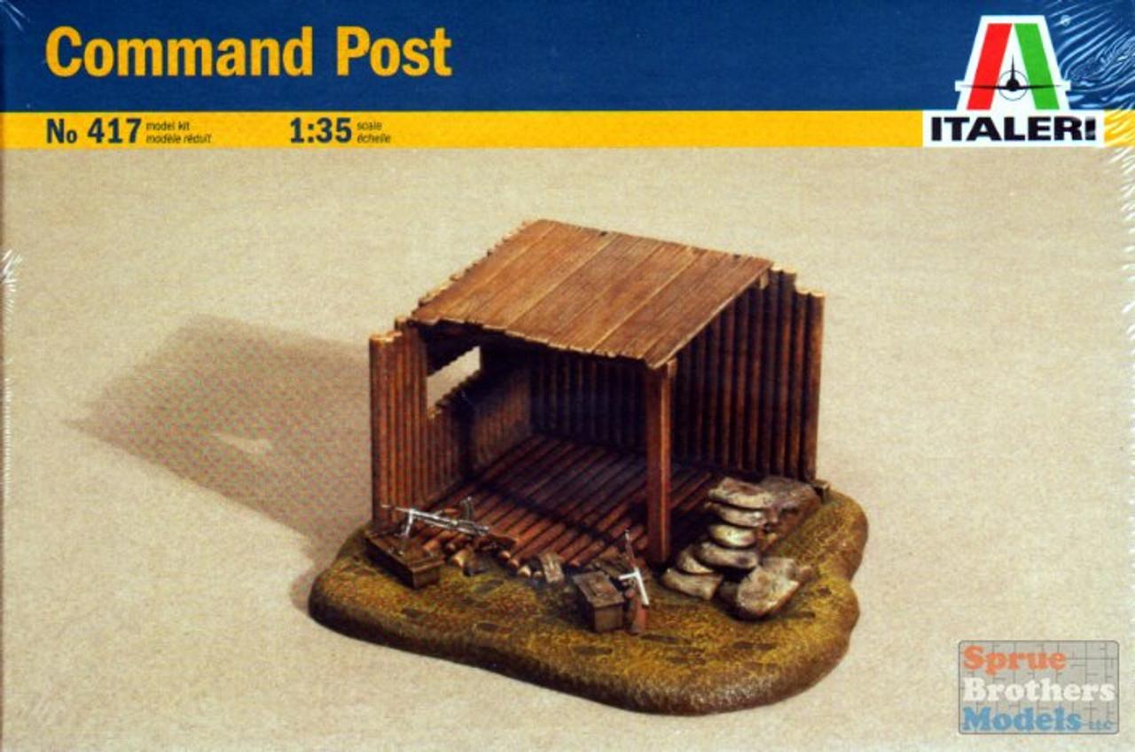 ITA0417 1:35 Italeri Command Post