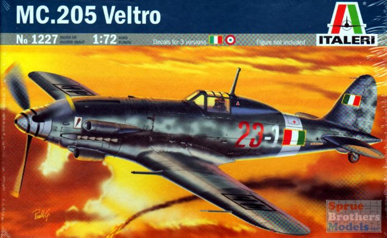 ITA1227 1:72 Italeri MC.205 Veltro