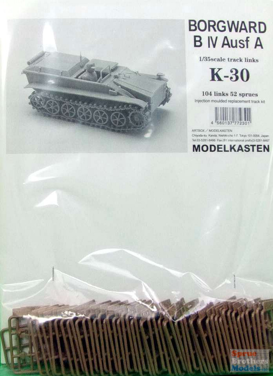 MDKK030 1:35 Modelkasten Borgward B IV Ausf A Track Link Set