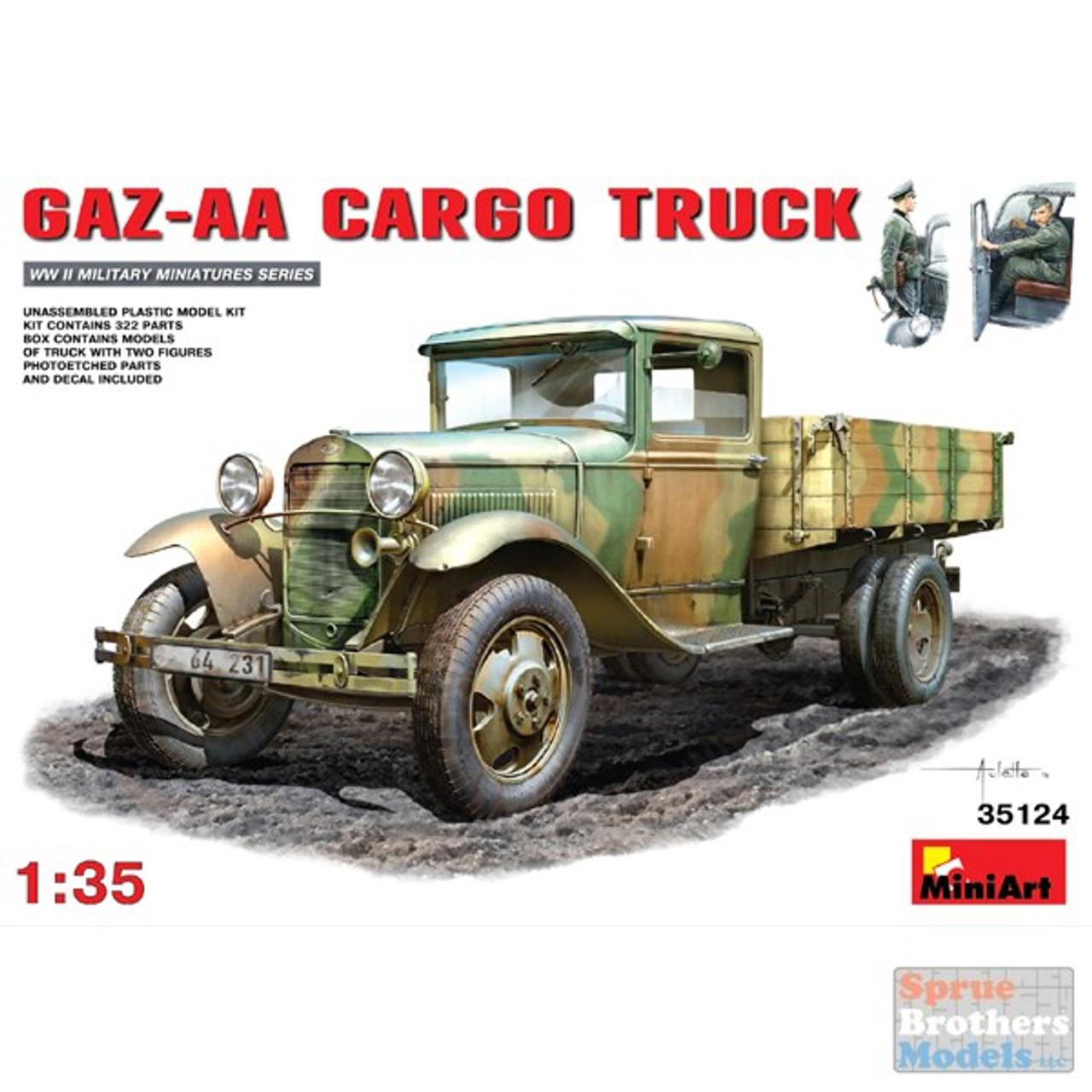 MIA35124 1:35 Miniart GAZ-AA Cargo Truck