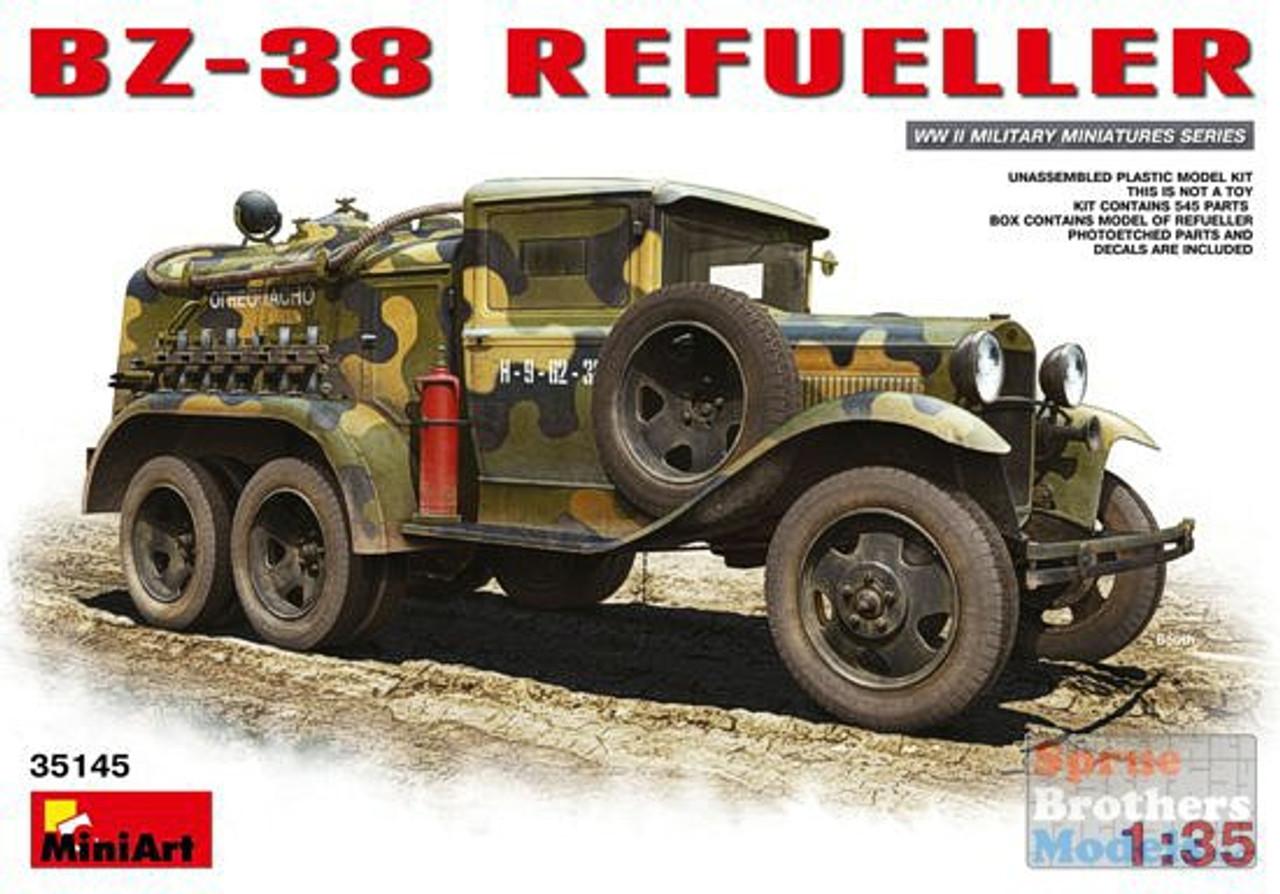 MIA35145 1:35 MiniArt BZ-38 Refueller