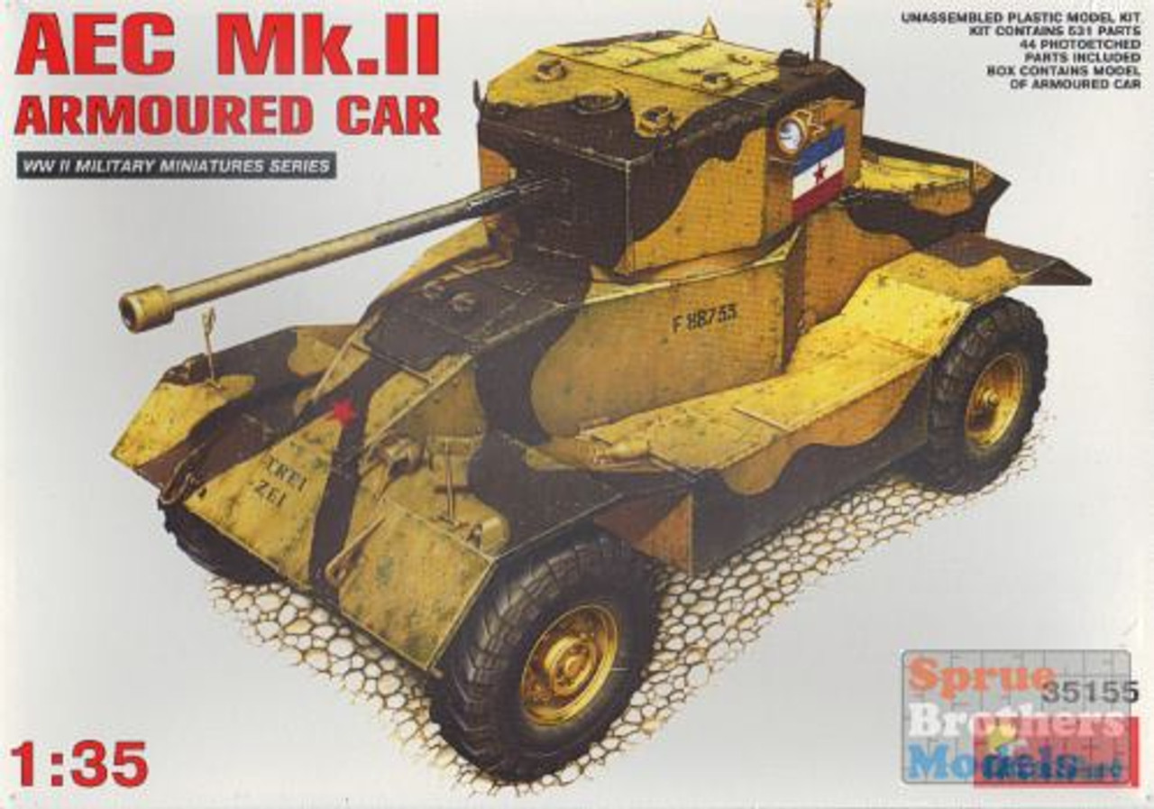 MIA35155 1:35 Miniart AEC Mk.II Armoured Car