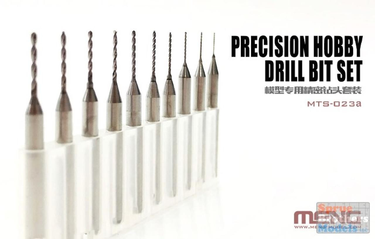 MNGMTS023A Meng Precision Hobby Drill Bit Set