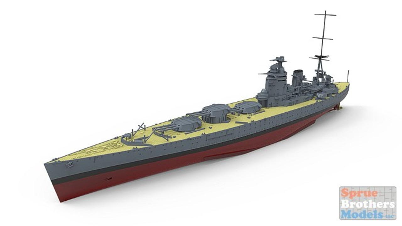 MNGPS001 1:700 Meng HMS Rodney