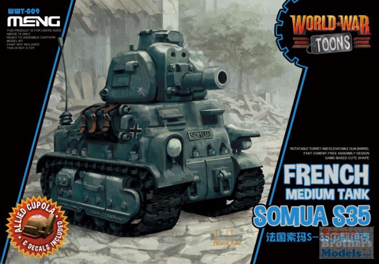 MNGWWT009 Meng World War Toons - French Medium Tank Somua S35
