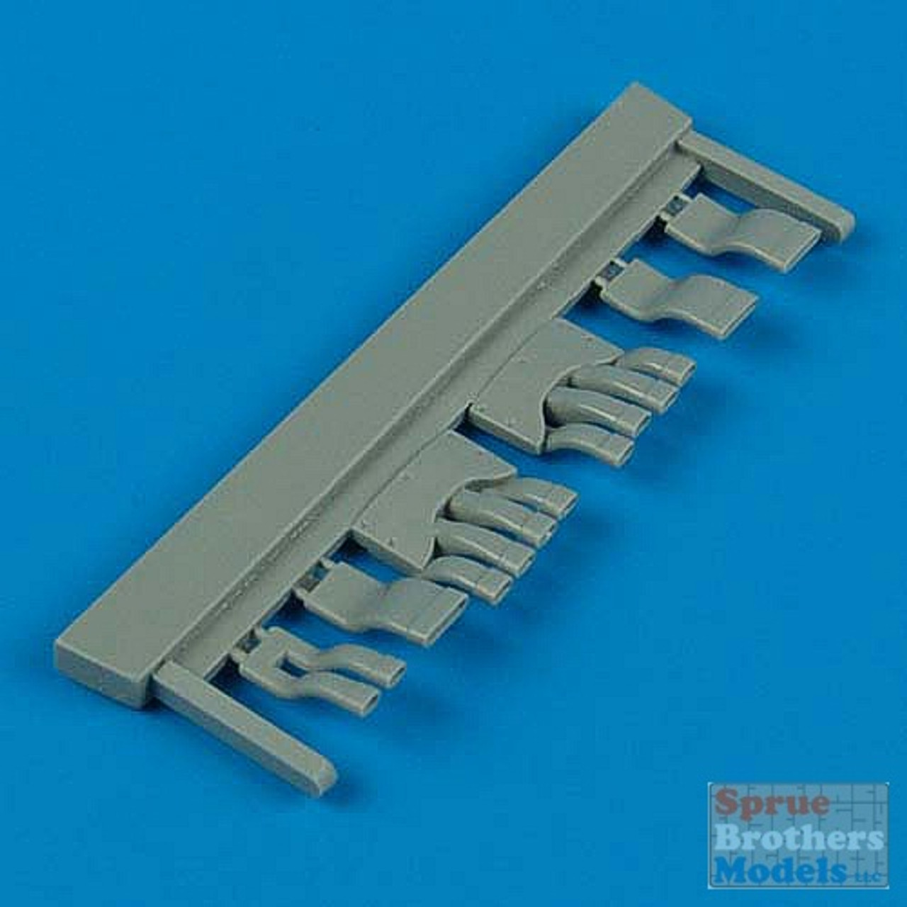 QBT32041 1:32 Quickboost Ki-84 Hayate Exhaust Set (HAS kit) #32041