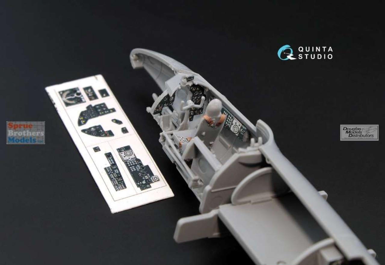 QTSQD72001 1:72 Quinta Studio Interior 3D Decal - Pe-2 (ZVE kit)