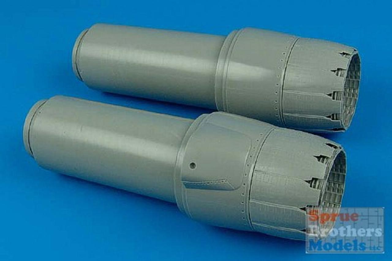 ARS2117 1:32 Aires F-14D Tomcat Exhaust Nozzles Set (TRP kit) #2117