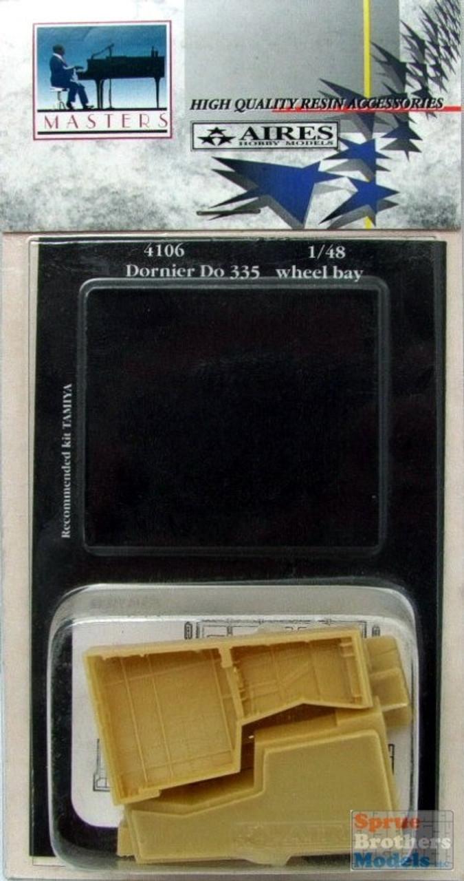 ARS4106 1:48 Aires Dornier Do 335 Arrow Wheel Bay Set (TAM kit) #4106