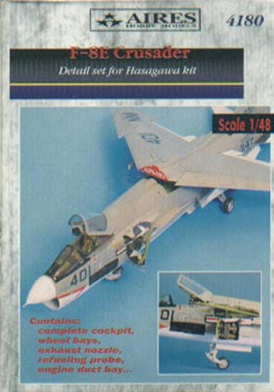 ARS4180 1:48 Aires F-8E Crusader Detail Set (HAS kit) #4180