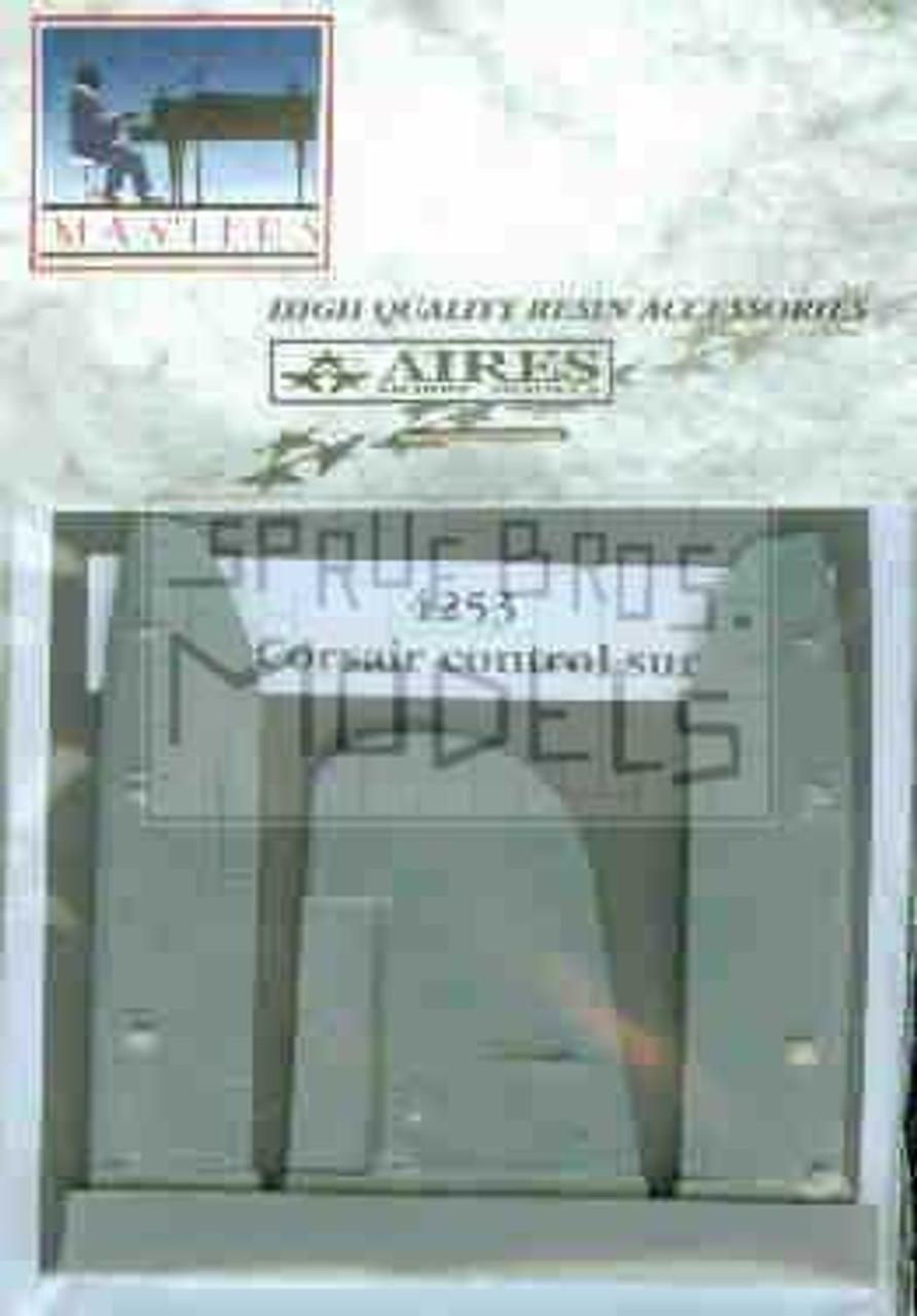 ARS4253 1:48 Aires F4U-1 Corsair Control Surfaces (TAM kit) #4253