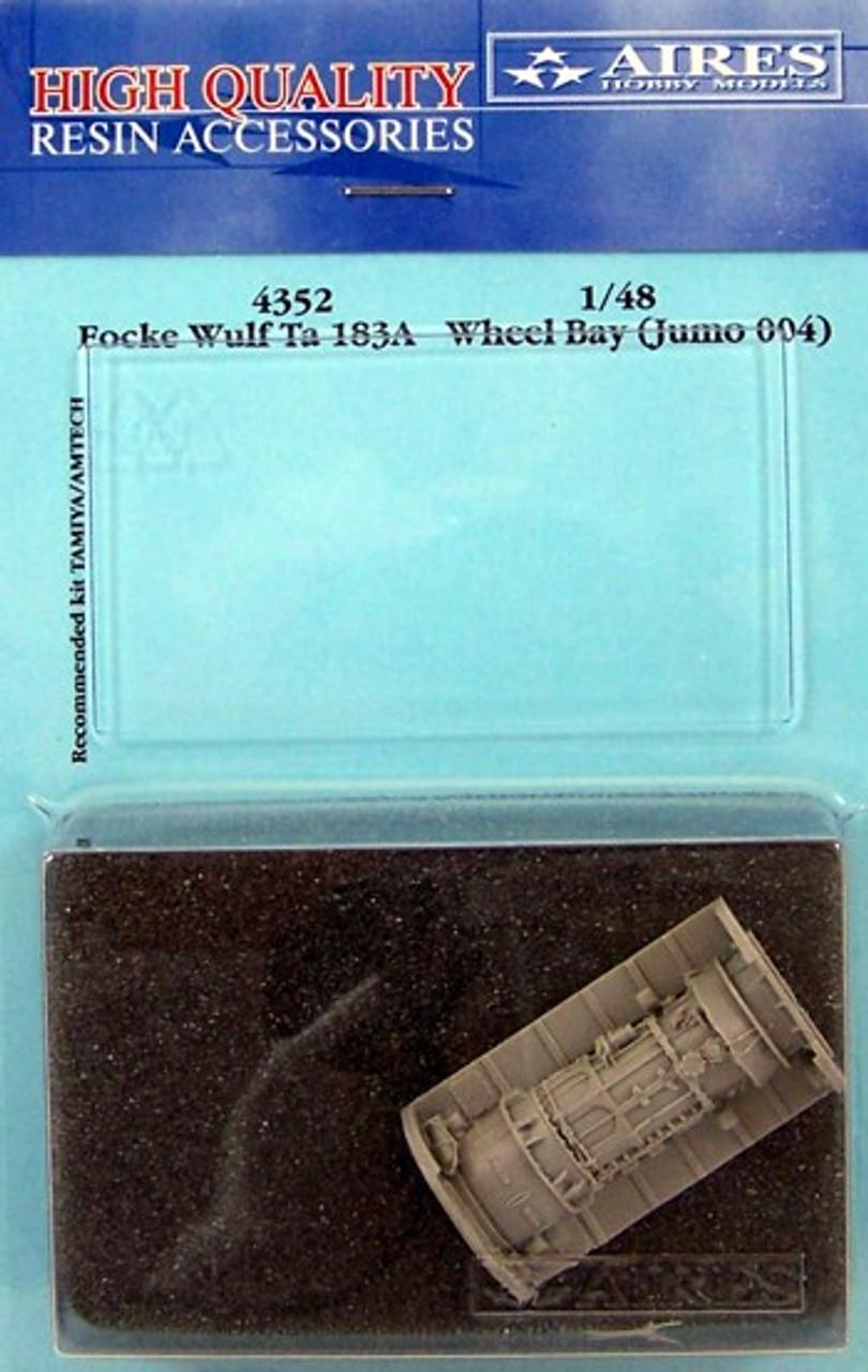 ARS4352 1:48 Aires Ta183A Wheel Bay (TAM kit) #4352