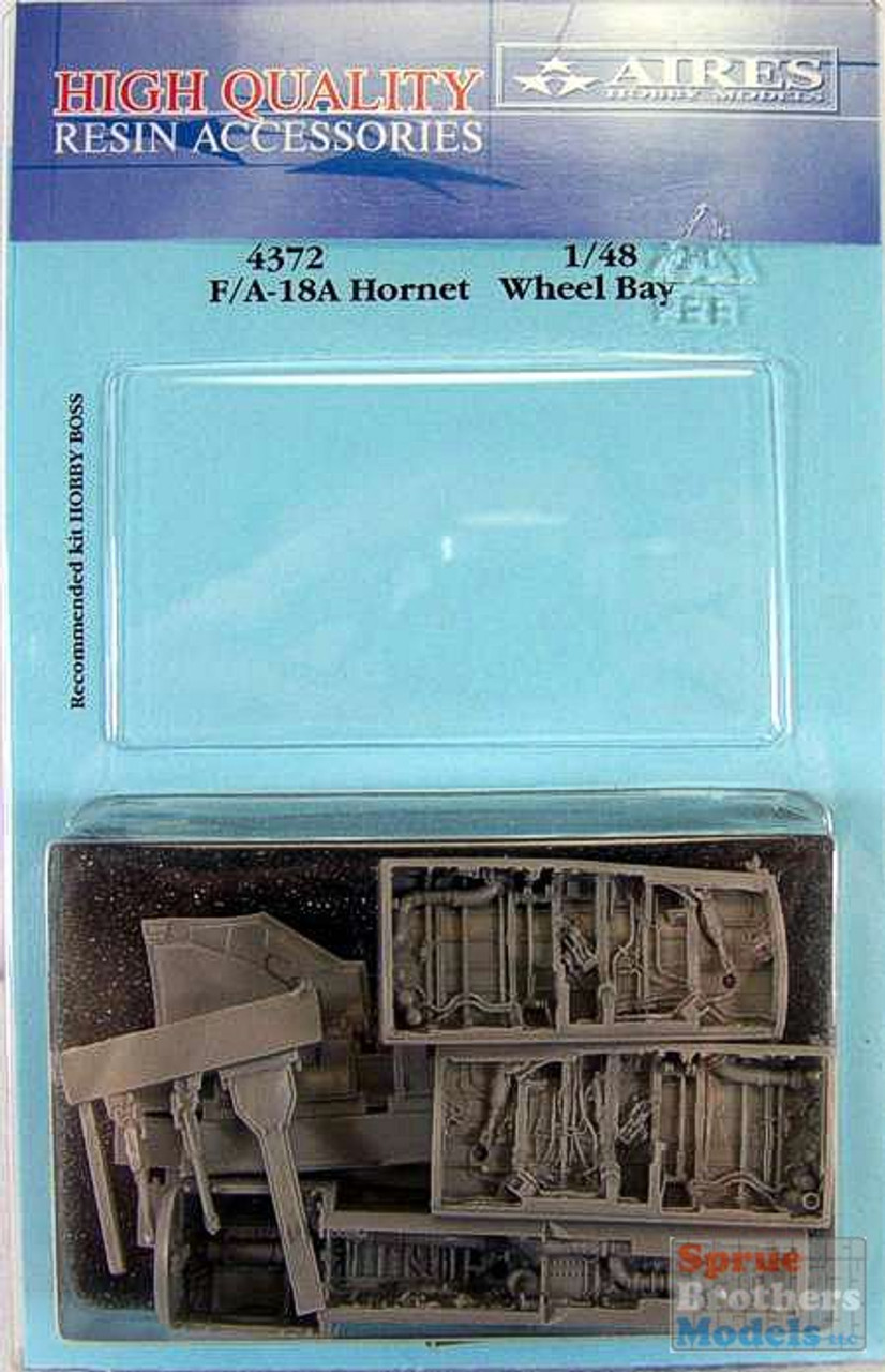 ARS4372 1:48 Aires F-18A Hornet Wheel Bay Set (HBS kit) #4372