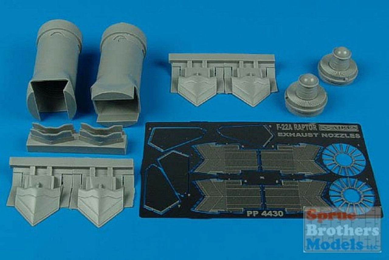 ARS4430 1:48 Aires F-22A Raptor Exhaust Nozzle (ACA kit) #4430