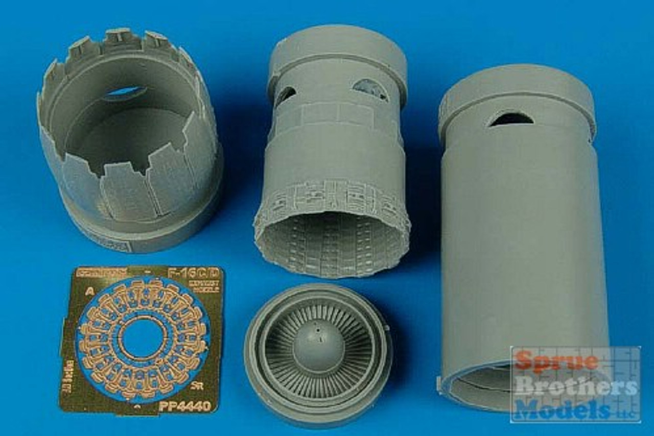 ARS4440 1:48 Aires F-16C/D Falcon Block 30/40/50/60 Exhaust Nozzle (KIN kit) #4440