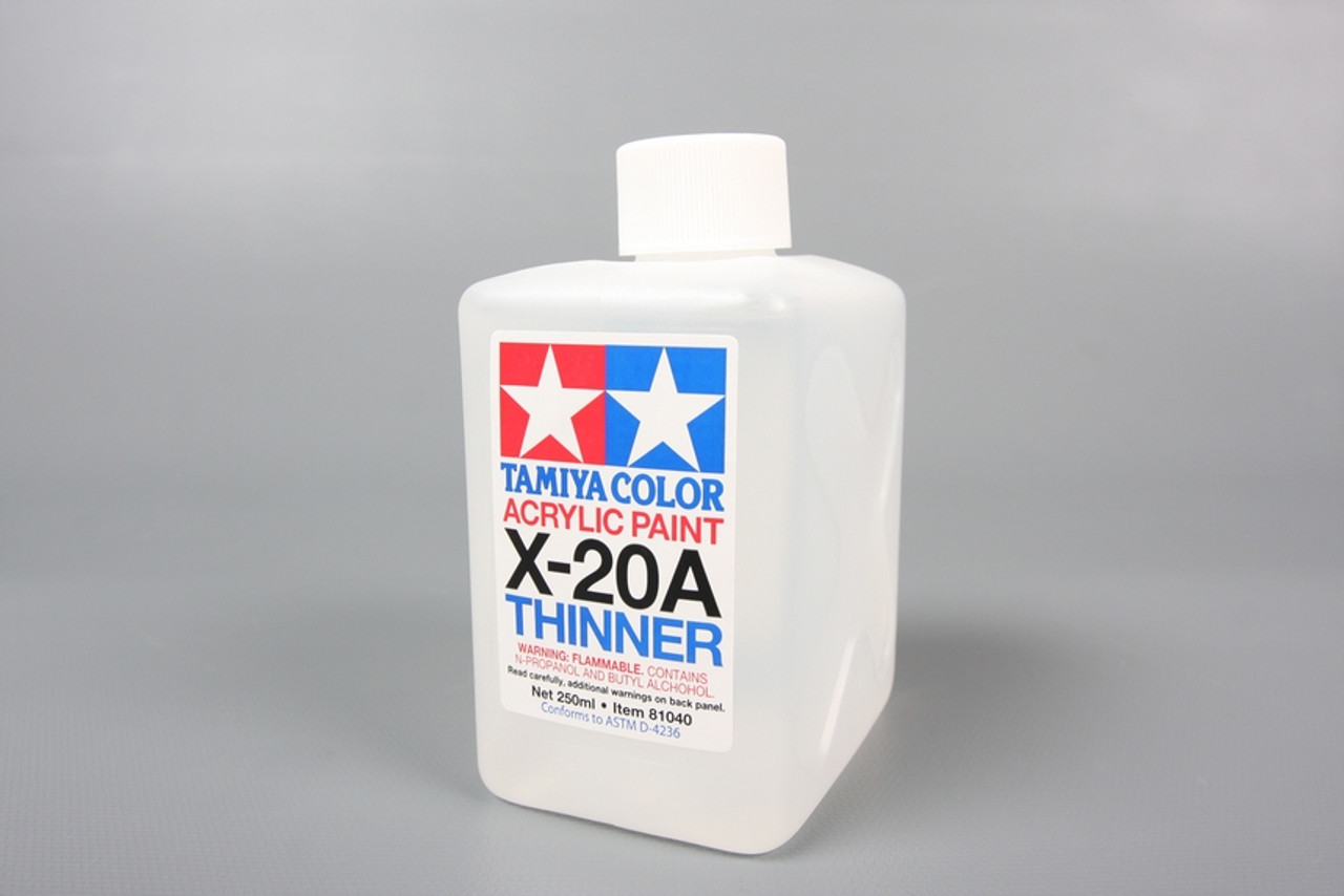 TAM81040A Tamiya Acrylic Paint X-20A Thinner 250ml (large size) #81040A