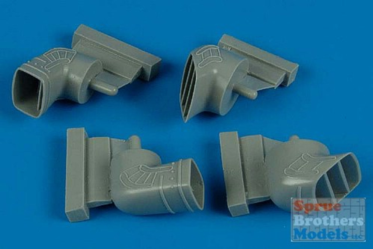 ARS4469 1:48 Aires Harrier GR Mk 5/7 Exhaust Nozzles Set (HAS kit) #4469