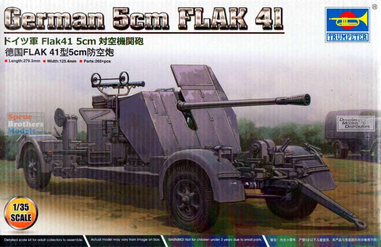 TRP02350 1:35 Trumpeter German 5cm Flak 41