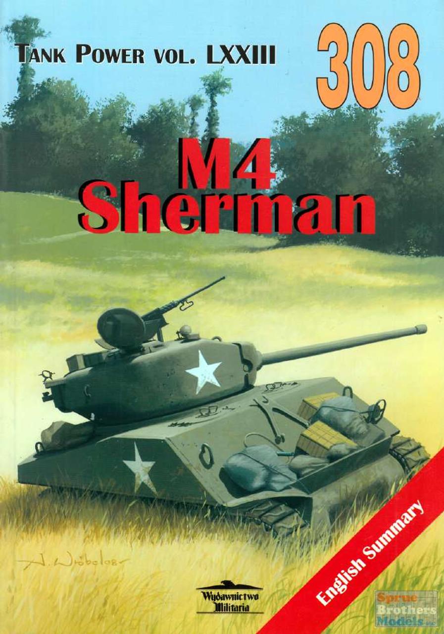 WMB0308 Wydawnictwo Miliaria - M4 Sherman (Tank Power Vol.LXXIII)