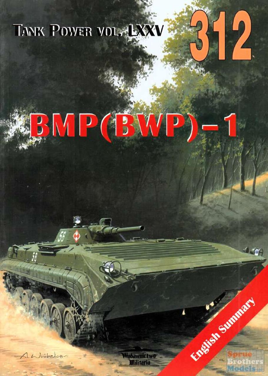 WMB0312 Wydawnictwo Miliaria - BMP(BWP)-1 (Tank Power Vol.LXXV)