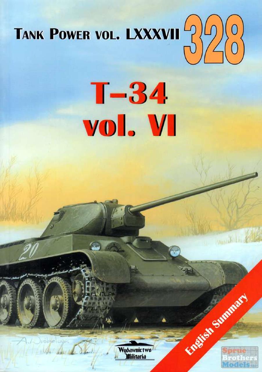 WMB0328 Wydawnictwo Miliaria - T-34 Vol.VI (Tank Power LXXXVII)