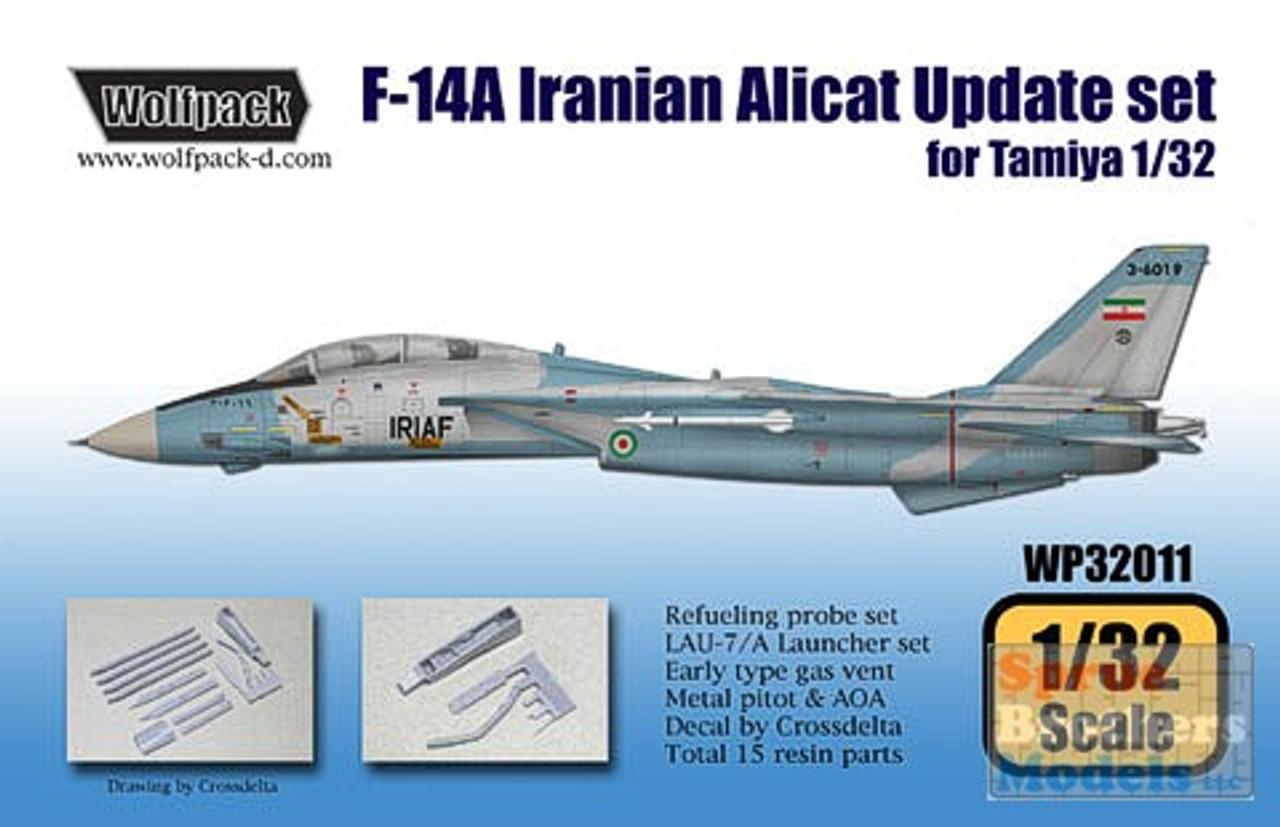 WPD32011 1:32 Wolfpack F-14A Iranian Alicat Update Set (TAM kit) #32011