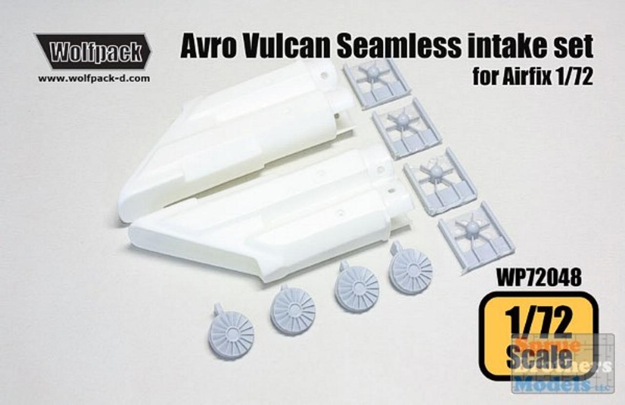 WPD72048 1:72 Wolfpack Avro Vulcan B Mk 2 Seamless Intake Set (AFX kit) #72048