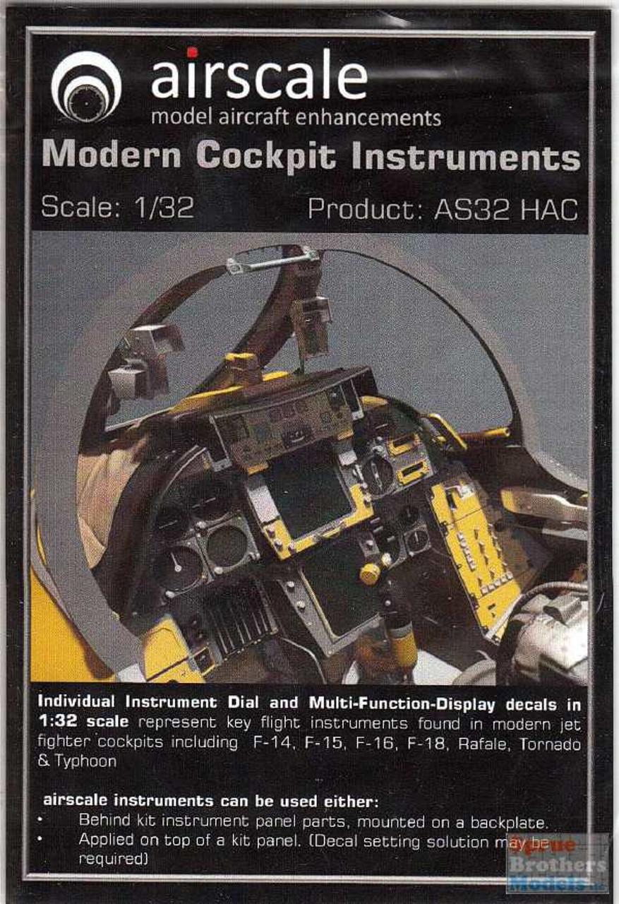 ASCAS32HAC 1:32 Airscale Modern Cockpit Instruments