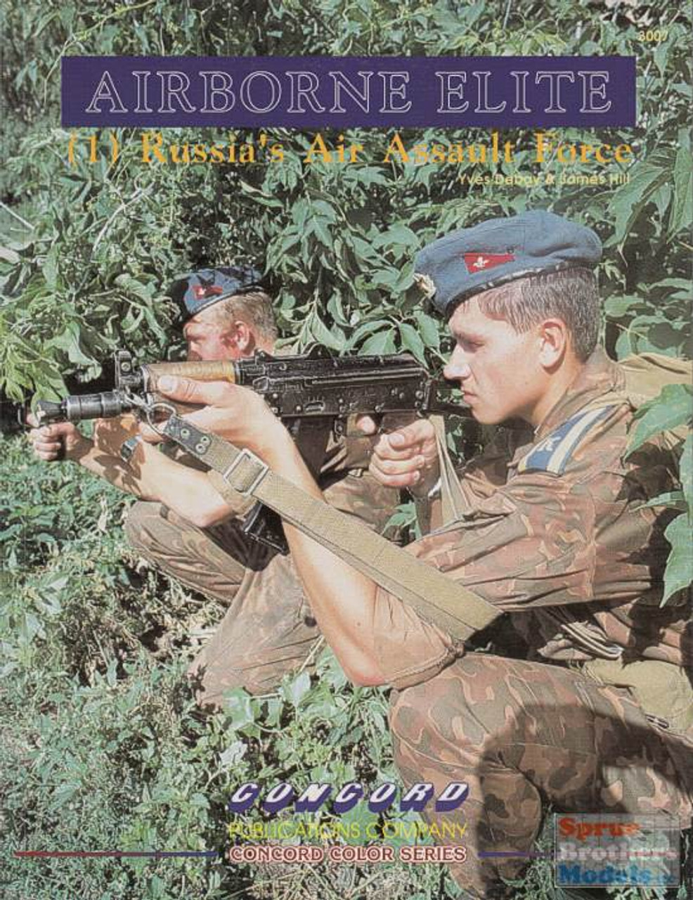 CCD3007 Concord Publications - Airborne Elite 1: Russia's Air Assault Force