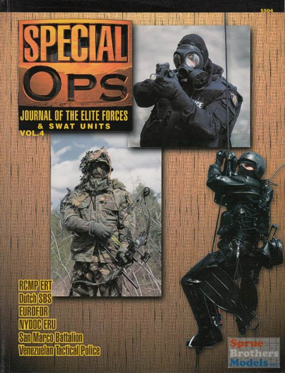 CCD5504 Concord Publications - Special Ops Volume #4