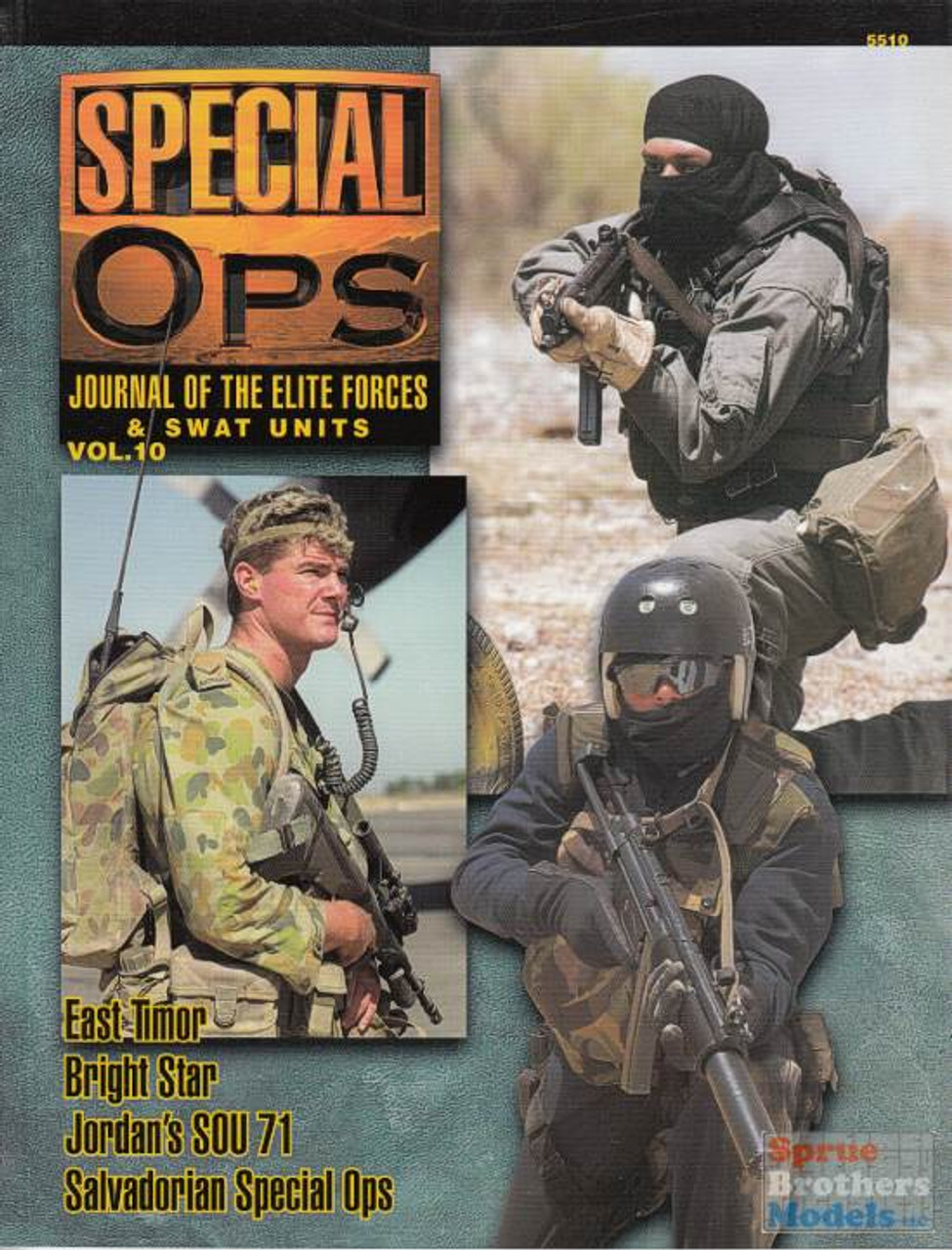 CCD5510 Concord Publications - Special Ops Volume #10