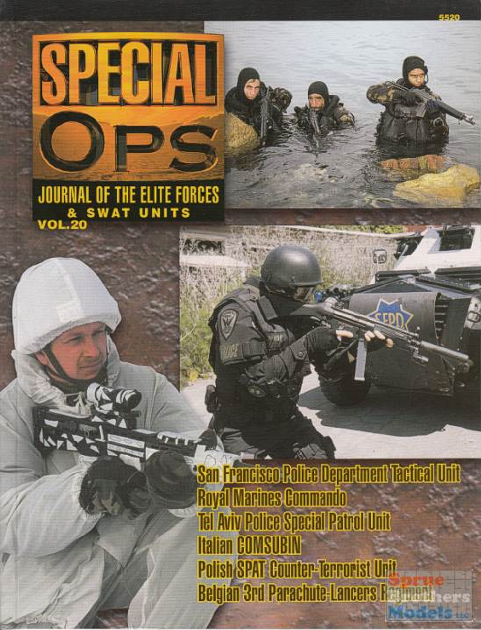 CCD5520 Concord Publications - Special Ops Volume #20