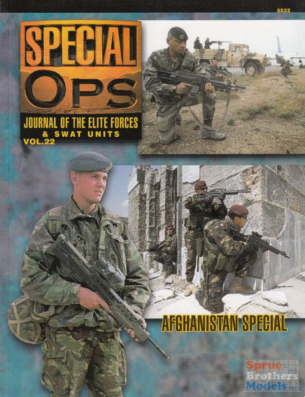 CCD5522 Concord Publications - Special Ops Volume #22