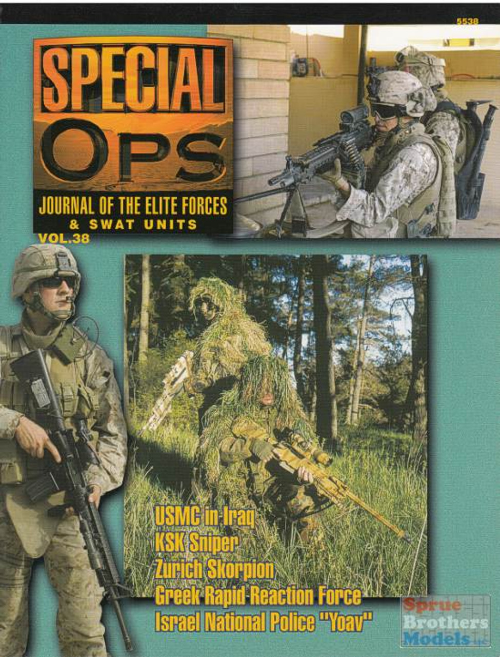 CCD5538 Concord Publications - Special Ops Volume #38