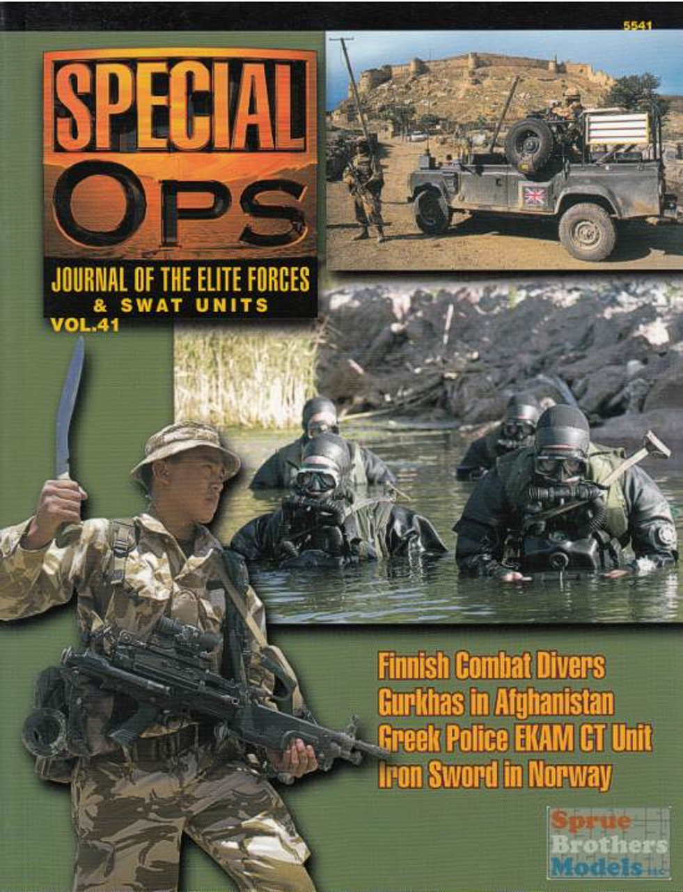 CCD5541 Concord Publications - Special Ops Volume #41