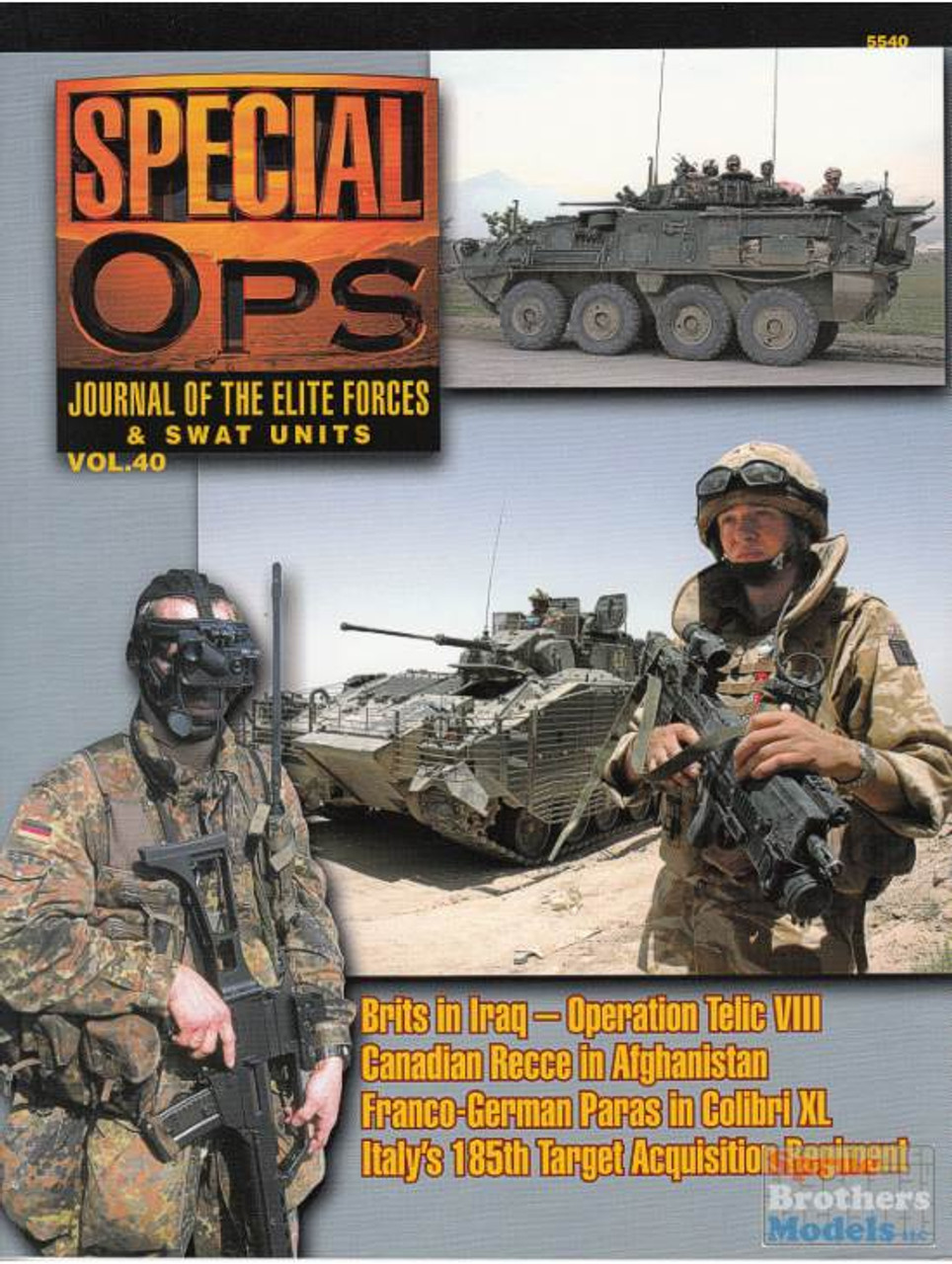 CCD5540 Concord Publications - Special Ops Volume #40