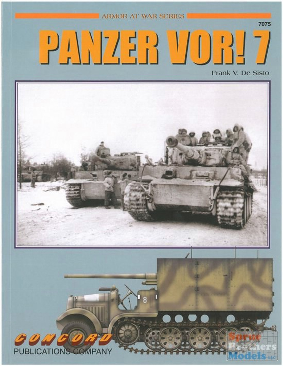 CCD7075 Concord Publications - Panzer VOR! 7 - German Armor at War 1939-45