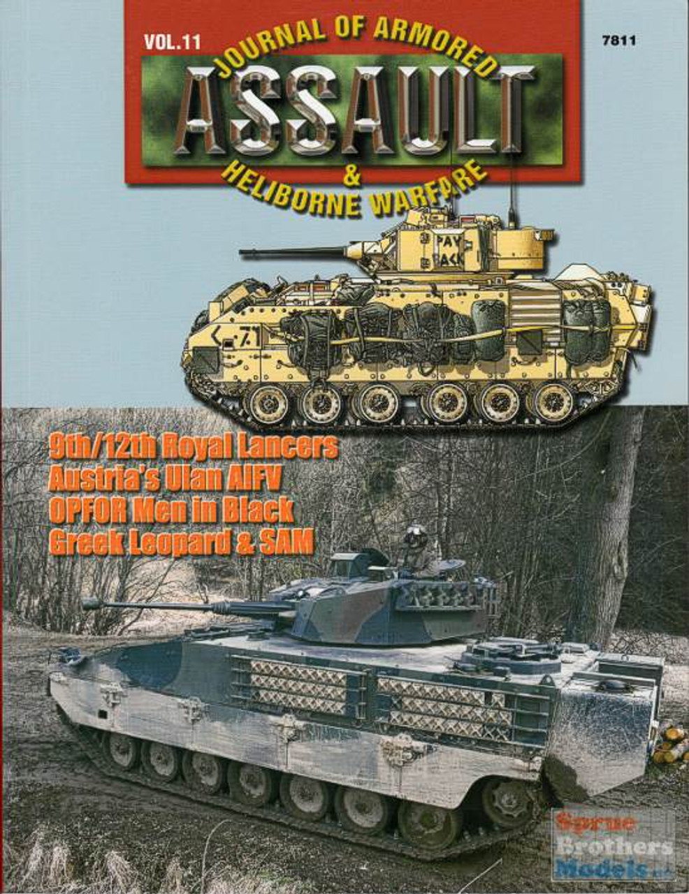 CCD7811 Concord Publications - Assault Journal #11