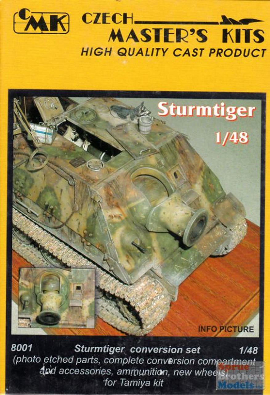 CMK8001 1:48 CMK Sturmtiger Conversion Set (TAM kit)